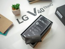 Retail package - LG V40 ThinQ hands-on review