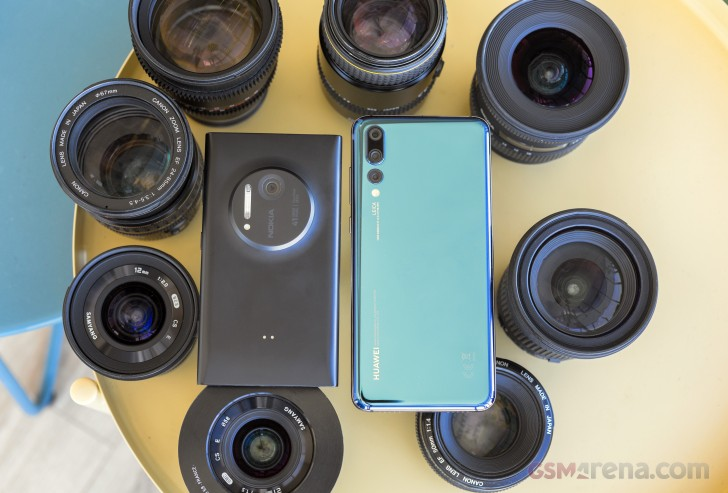 Lumia 1020 vs. Huawei P20 Pro blind shootout