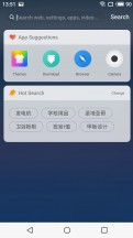 Flyme UI and search - Meizu 15 review