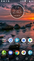 Homescreen - Motorola Moto G5S Plus review