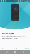 Moto display - Motorola Moto G5S Plus review