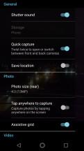 Camera interface - Motorola Moto G5S Plus review