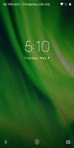 Lock screen - Motorola Moto G6 Play review
