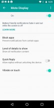 Moto Display - Motorola Moto G6 Play review
