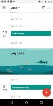 Calendar - Motorola Moto G6 Play review