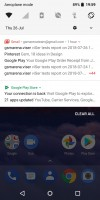 Notifications - Nokia 3.1 review
