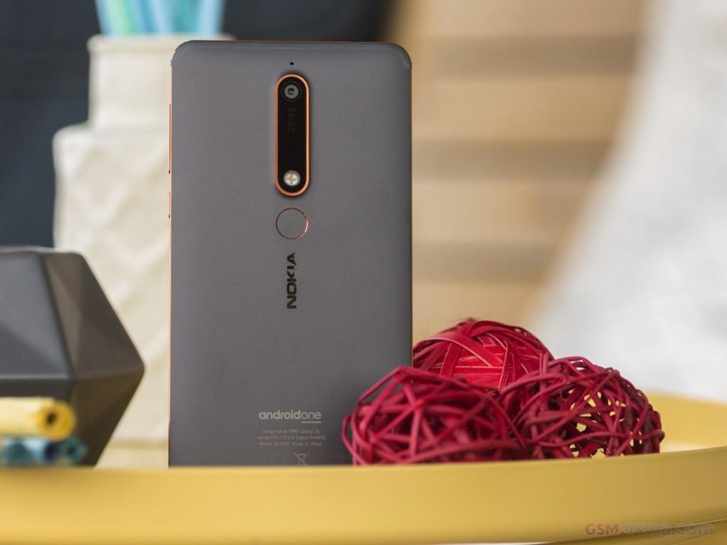 Nokia 6.1 pictures, official photos