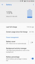 Nokia 8 battery life, from worst (left) to best (right) - Nokia 8 long-term review