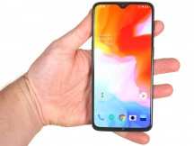 OnePlus 6T in the hand - OnePlus 6T review