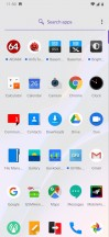 App drawer - OnePlus 6T review