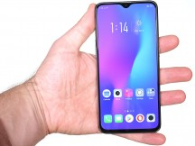 Oppo R17 Pro's front and back - Oppo RX17 Pro review