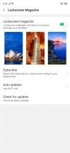 Lockscreen and magazine customization - Oppo RX17 Pro review