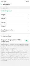 Fingerprint and face unlock setup - Oppo RX17 Pro review