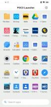 App drawer - Pocophone F1 long-term review