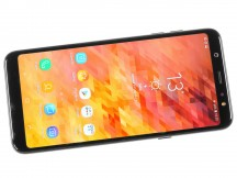 Super AMOLED with rounded corners - Samsung Galaxy A6+ (2018) review