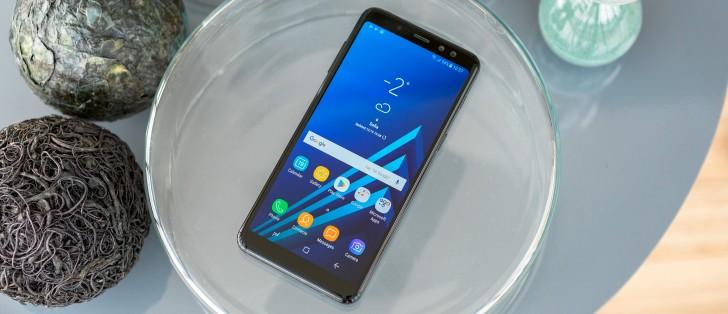 156773b976 Samsung Galaxy A8 (2018) review - GSMArena.com tests