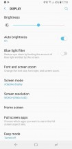 Display and Screen mode settings - Samsung Galaxy S9 Plus long-term review