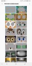 Iris screen masks - Samsung Galaxy S9+ review