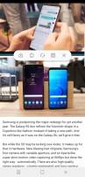 Split-screen multi-window - Samsung Galaxy S9 review