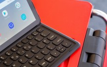 The keys have good travel - Samsung Galaxy Tab S4 10.5 hands-on review