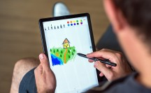 The S Pen ergonomics are great - Samsung Galaxy Tab S4 10.5 hands-on review