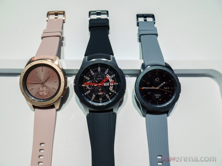Samsung Galaxy Watch Review Hardware And Battery Life