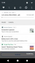 Notifications - Sony Xperia L2 review
