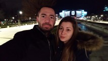 Low-light normal selfie - f/2.0, ISO 2305, 1/10s - Sony Xperia XA2 Ultra review