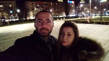 low-light normal selfie - f/2.0, ISO 2173, 1/10s - Sony Xperia XA2 Ultra review