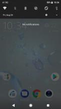 Notification shade - Sony Xperia XZ2 Premium review