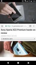 Split screen - Sony Xperia XZ2 Premium review