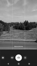 Camera interface - Sony Xperia XZ2 Premium review