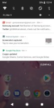Notification shade - Sony Xperia XZ2 review