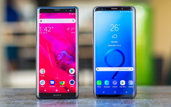 s8 vs iphone X vs xperia z3