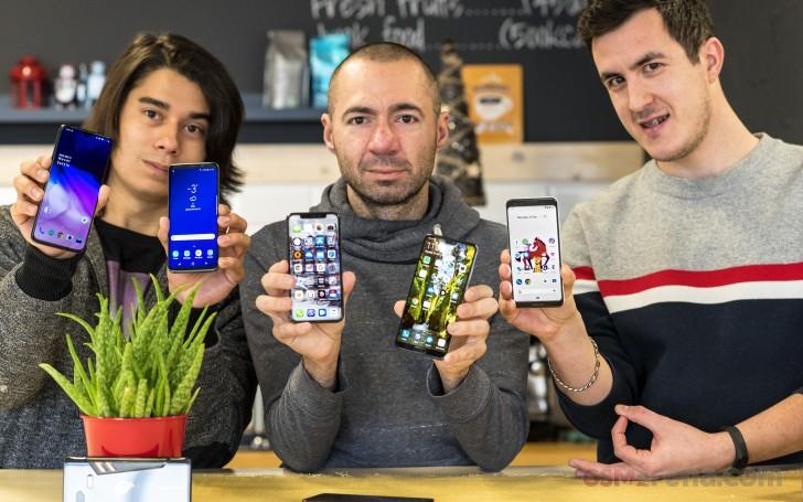 Our editors favorite smartphones of 2018