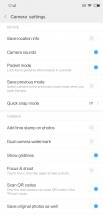 Camera interface - Xiaomi Mi 8 review
