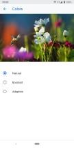 Google Pixel 3a XL display options - Google Pixel 3a Xl review
