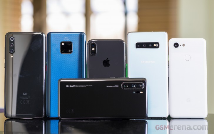 Huawei P30 Pro camera comparison