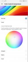 Display color settings - Huawei P30 review