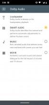Dolby Audio settings - Motorola Moto G7 Plus review