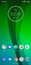 Homescreen - Motorola Moto G7 review