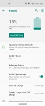 Battery features - Motorola One Vision review