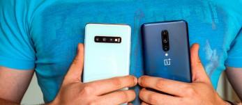 OnePlus 7 Pro vs. Samsung Galaxy S10+