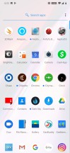 App drawer - Oneplus 7 Pro review