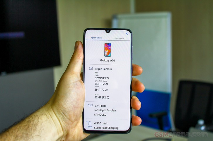 Samsung Galaxy A80 and A70 hands-on review
