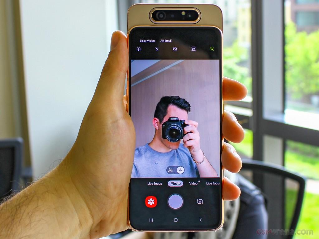 Samsung Galaxy A80 Pictures Official Photos