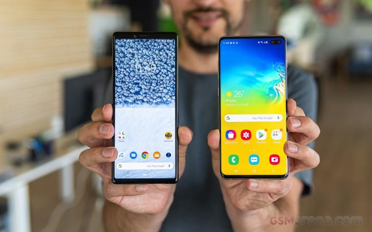 Samsung Galaxy S10+ vs. Sony Xperia 1