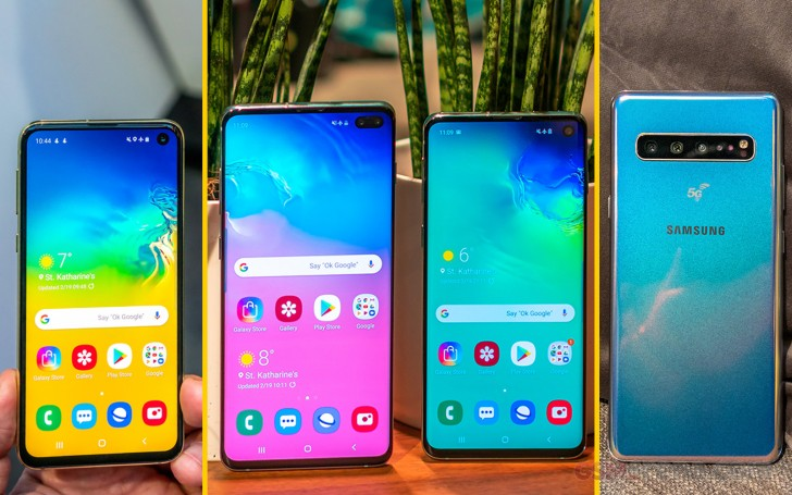 Samsung Galaxy S10 hands-on review