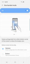 Gestures - Samsung Galaxy S10 review