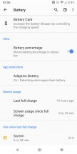 Battery life snapshots - Sony Xperia XZ3 long-term review